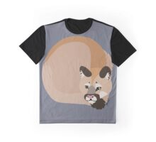 Tocho the Mountain Lion Graphic T-Shirt