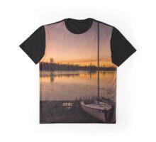 Park Sunset Graphic T-Shirt