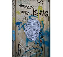 Graffiti door Photographic Print