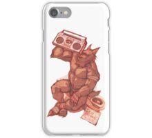 Boombox Werewolf iPhone Case/Skin