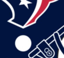 Houston Texans Fan Sticker