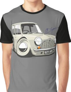 Morris Mini Mark 1 caricature Graphic T-Shirt