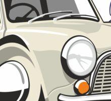 Morris Mini Mark 1 caricature Sticker