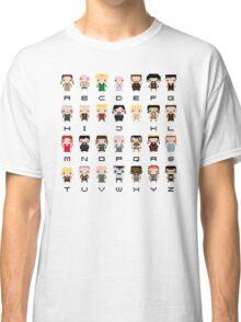 Game of Thrones Alphabet Classic T-Shirt