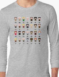 Game of Thrones Alphabet Long Sleeve T-Shirt