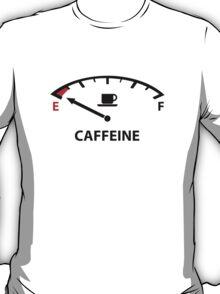 Running On Empty : Caffeine T-Shirt