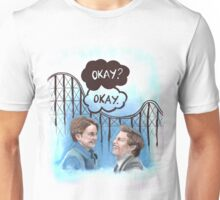 A roller coaster that only goes up Unisex T-Shirt