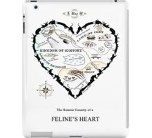 Map of a Feline's Heart iPad Case/Skin