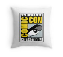 Comic Con Throw Pillow