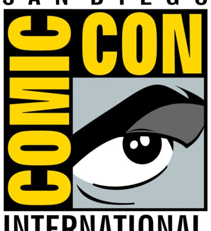 Comic Con Sticker