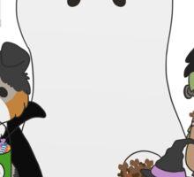 Halloween Puppers Sticker