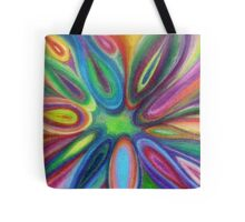 Exploding Colors Tote Bag
