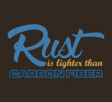 Rust is lighter than carbon fiber (7) by PlanDesigner