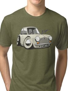 Morris Mini Mark 1 caricature Tri-blend T-Shirt