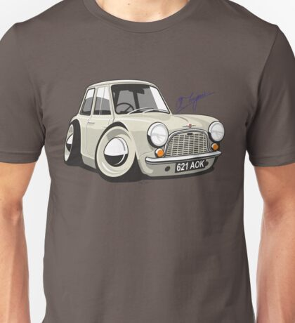 Morris Mini Mark 1 caricature Unisex T-Shirt