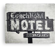 Coachlight Motel in Chicago Metal Print