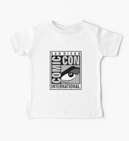 Comic Con Greyscale Baby Tee