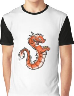 Artsy Dragon Graphic T-Shirt