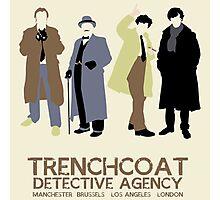 Trenchcoat Detective Agency Photographic Print