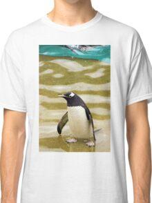 Penguin Paddling Classic T-Shirt