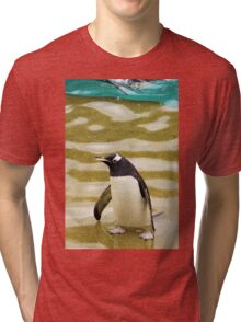 Penguin Paddling Tri-blend T-Shirt