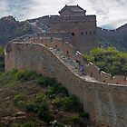 The Great Wall of China at Jinshanling by Martin Lawrence