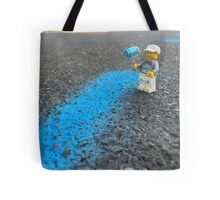 Brickography - Paint Tote Bag