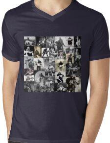 Monsters Carrying Women Mens V-Neck T-Shirt