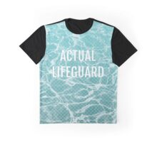 ACTUAL LIFEGUARD Graphic T-Shirt