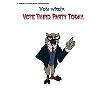 Vote Wisely Photographic Print