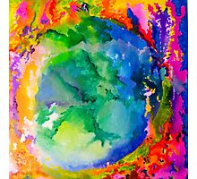 Earth on Fire Photographic Print