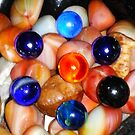 Colorful Marbles  by emilypigou