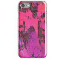 Paint, Pink (Texture, Background) iPhone Case/Skin