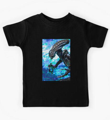 Alien from sci-fi movie Kids Tee