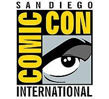Comic Con No Border Photographic Print