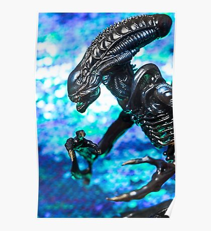 Alien from sci-fi movie Poster