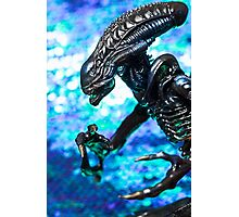 Alien from sci-fi movie Photographic Print