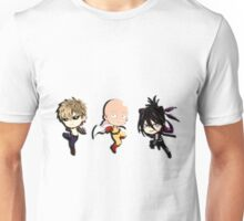 chibi_one_man_punch_trio_relief Unisex T-Shirt