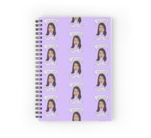 April Ludgate cartoon drawing + quote (stickers etc) Spiral Notebook