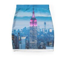 Empire State Building By- JcArts Mini Skirt