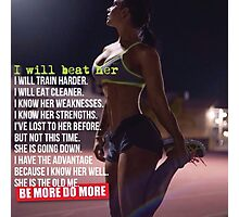 I Will Beat Her (She Is The Old Me) Photographic Print