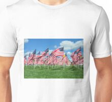 Flags of Honor at Minnetrista 9/11/16 Unisex T-Shirt