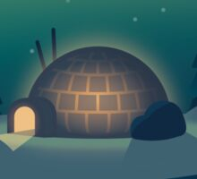 The Lonely Igloo Sticker