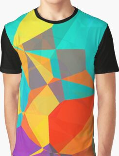 Graphic Polygons (Wallpaper, Background) Graphic T-Shirt
