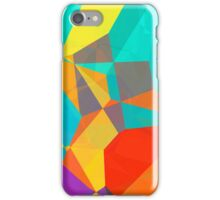Graphic Polygons (Wallpaper, Background) iPhone Case/Skin