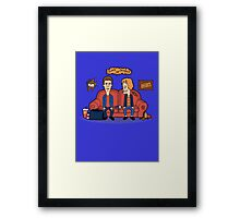 Harry and Lloyd Framed Print