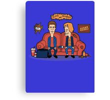 Harry and Lloyd Canvas Print