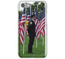 Military Men at Minnetrista iPhone Case/Skin