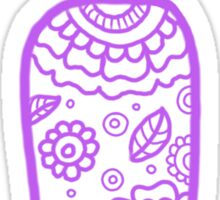 zentangle i: lavender  Sticker