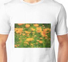 Yellow Blur Unisex T-Shirt